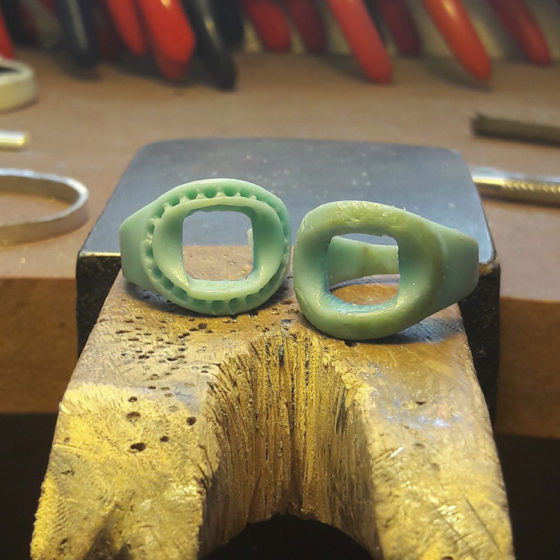 Modifying waxes for casting