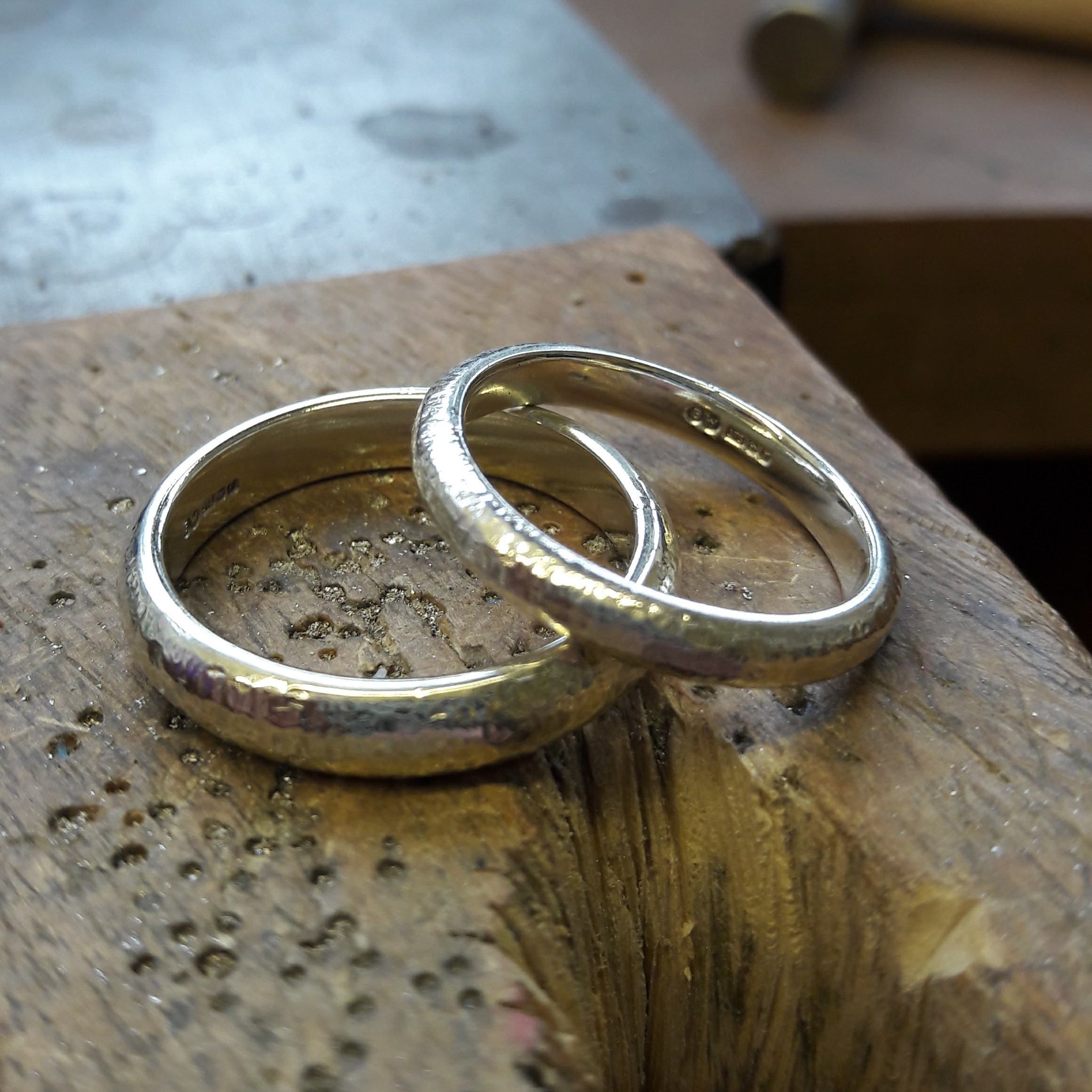 Make Your Own Wedding Rings Workshop Becca Williams Jewellery