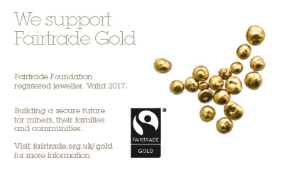 Becca is a Goldsmith who offers Fairtrade Gold