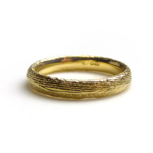 18ct Yellow Gold Cuttlefish Ring